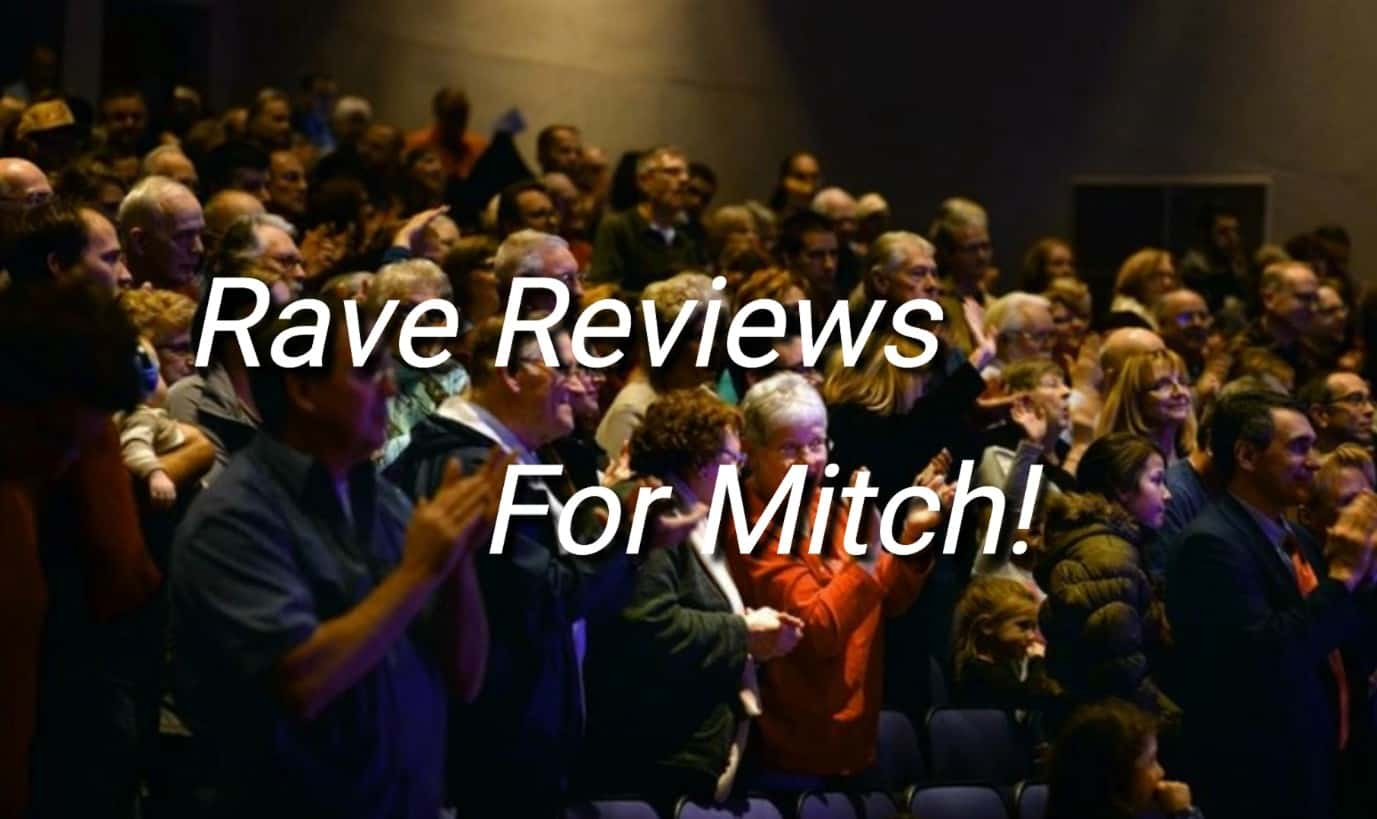 Rave reviews for Magician Mitch Williams