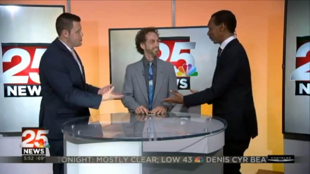 Mitch wows on TV